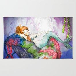 Mermaid Lagoon Mermaid Rug