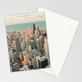 CHICAGO SKYSCRAPERS Stationery Cards