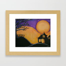 Autumn Moon  Framed Art Print