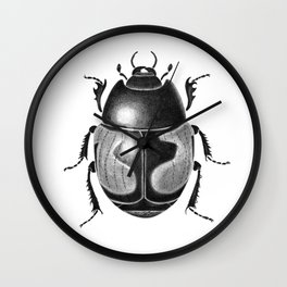 Beetle 10 Wall Clock