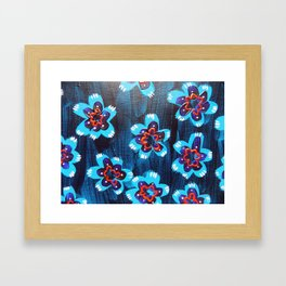 Santa Fe Rose Framed Art Print