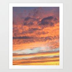 Berkshire Sunset II Art Print