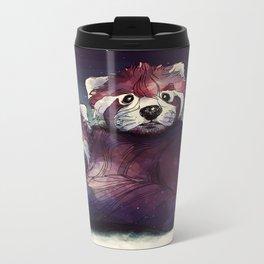 red pandas Metal Travel Mug