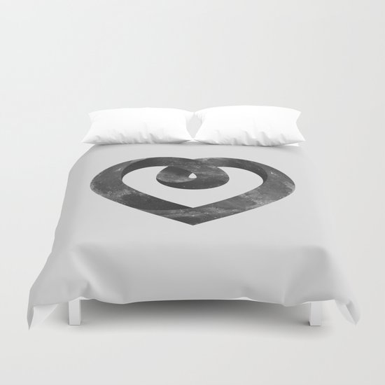 Impossible Love Duvet Cover