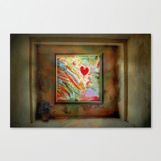 Der Herzensraum ! Canvas Print