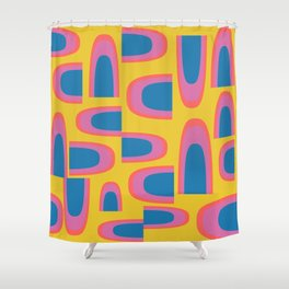 Retro Whimsy Shower Curtain