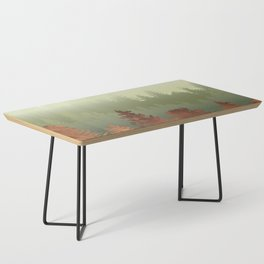 Treescape Green Coffee Table