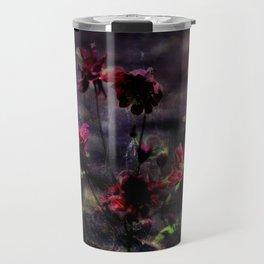 Mes ancolie - Aquilegia dark floral Travel Mug