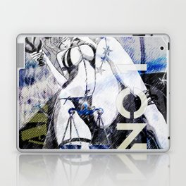 LIBRA:TRUST NO ONE Laptop & iPad Skin