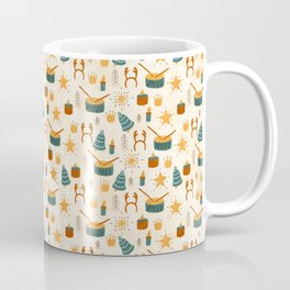 Christmas Toys Terracotta Coffee Mug