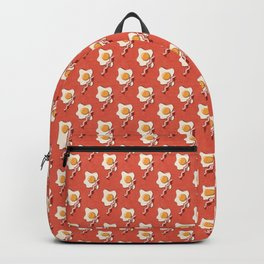 FAST FOOD / Egg and Bacon - pattern Backpack