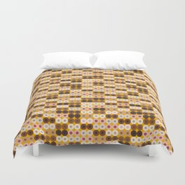 Breast Wishes (mustard) Duvet Cover