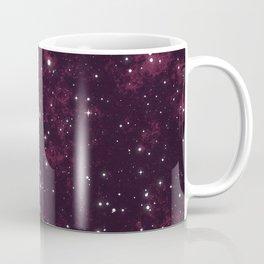 Burgundy Space Coffee Mug