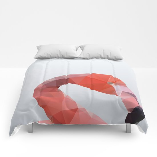 Geometrical - Flamingo Comforters