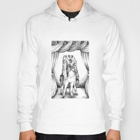 cthulu Hoodies featuring Haunted Clothing- The Coat of a Thousand Young by Kristin Richland