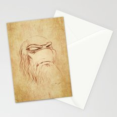 Leonardo's Self Portrait Stationery Cards