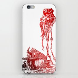 BATTLE OF THE WORLDS iPhone Skin