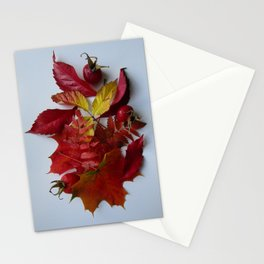 Pile of Autumn Stationery Cards