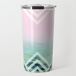 Bermuda Sky Pattern Travel Mug