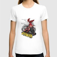"infamous T-shirts featuring InFamous Second Son - ""ENJOY YOUR POWER"" by Emme Gray"