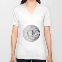 the moon V-neck T-shirts featuring Moon by Rui Ribeiro