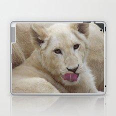 White Lion Cub - The Next Generation! Laptop & iPad Skin