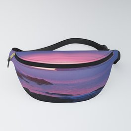 Winter's Dawn on the Coast Fanny Pack