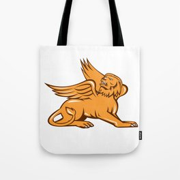 Griiffin Looking Up Retro Tote Bag