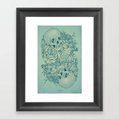 All the Pretty Flowers Framed Art Print