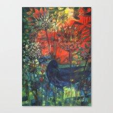 Blue Bird. Canvas Print