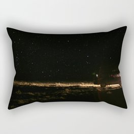 WE WENT TO THE SPACE Rectangular Pillow