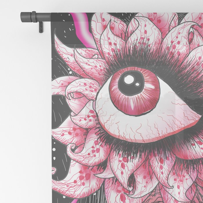 Third Eye Sheer Curtain