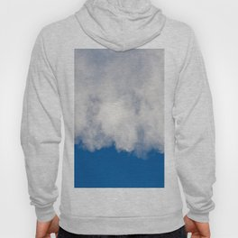 Cotton candy in blue Hoody