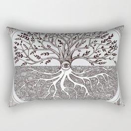 Tree of Life as above so below Rectangular Pillow