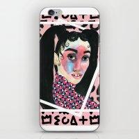fka twigs iPhone & iPod Skins featuring FKA TWIGS by @FindIzzCreate