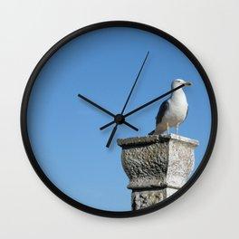 Rovinj Seagull Wall Clock