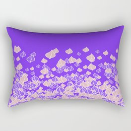 Leaf Blower PINK Rectangular Pillow