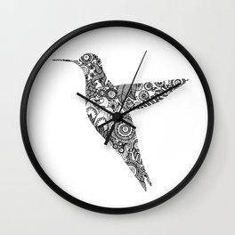The humming bird Wall Clock
