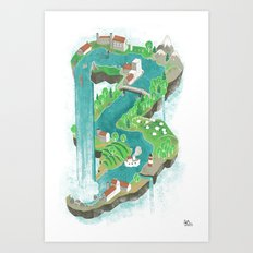 Perpetual World Art Print