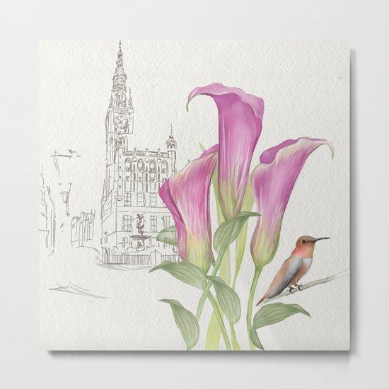 Macro flowers #24 Metal Print