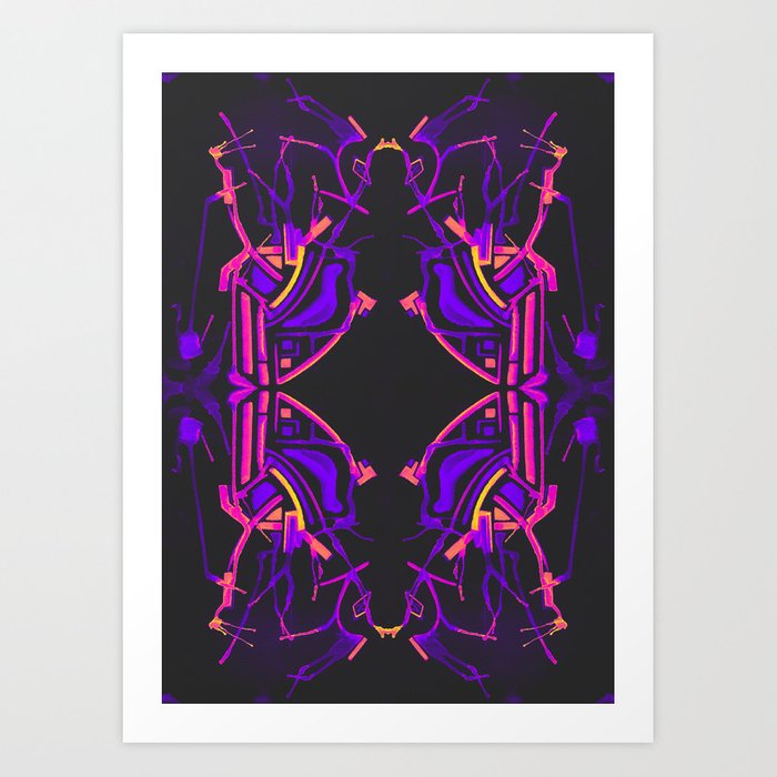 三 (Sān) Art Print