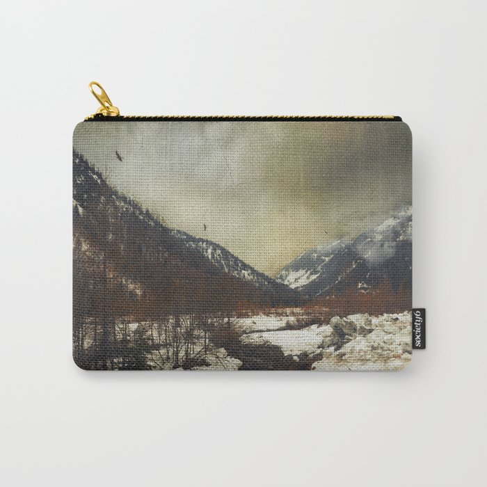 Wild Winter Valley Carry-All Pouch