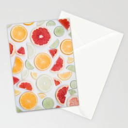 citrus fresh Stationery Cards