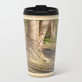 Long Shadows in an Enchanted Madrona Forest Travel Mug
