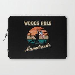 Woods Hole Massachusetts Laptop Sleeve