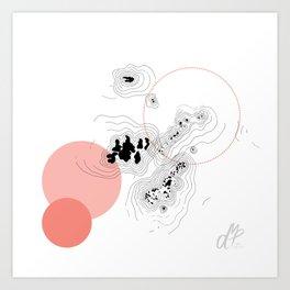 Absorption III Art Print