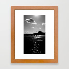 Boston Harbor-II Framed Art Print
