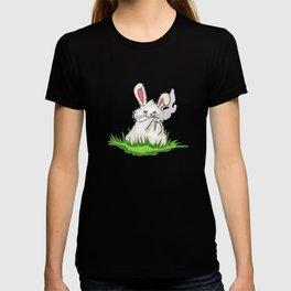 Smoking Bunny T-shirt