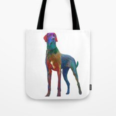 Great Dane Uncropped Tote Bag
