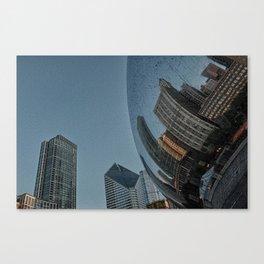 morphed skyline #2 Canvas Print